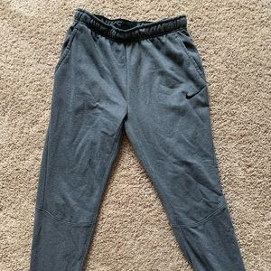 Nike tapered sweatpants.